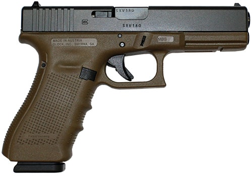 image of Glock Flat Dark Earth Gen 4 Full-Size Pistol
