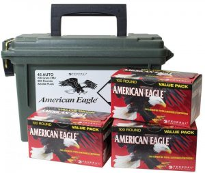 a picture of american eagle 45 acp ammo
