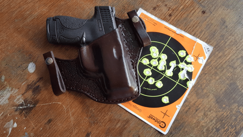 glock 43 holster with target sheet