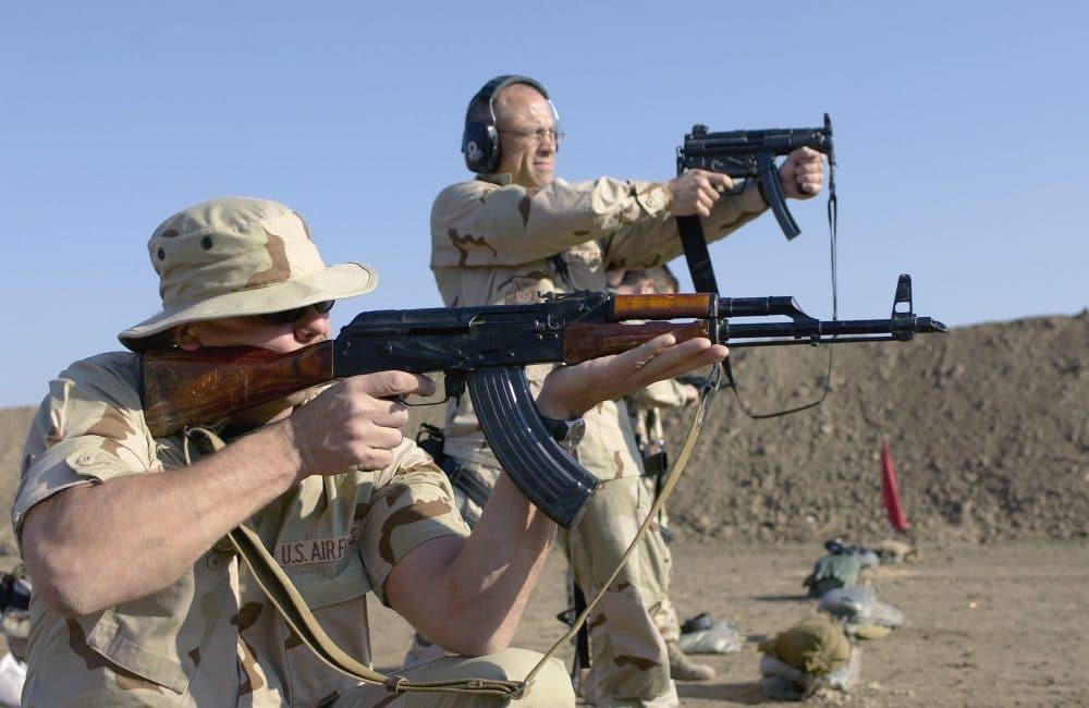 AKM rifle