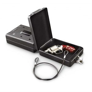 Image of Bulldog Cases Car Safe with Key Lock and Mounting Bracket