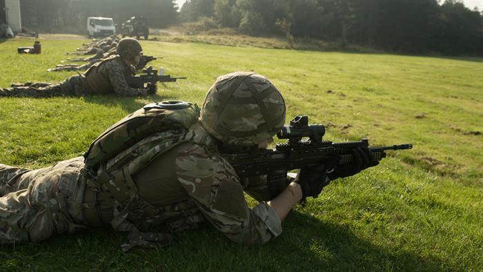 Bullup Rifles British Royal Marines