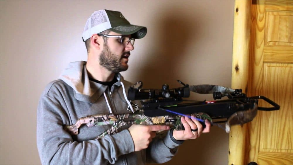 reviewing a crossbow scope