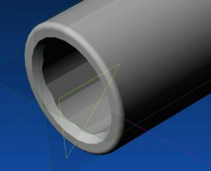 a picture of Glock's Polygonal Rifling