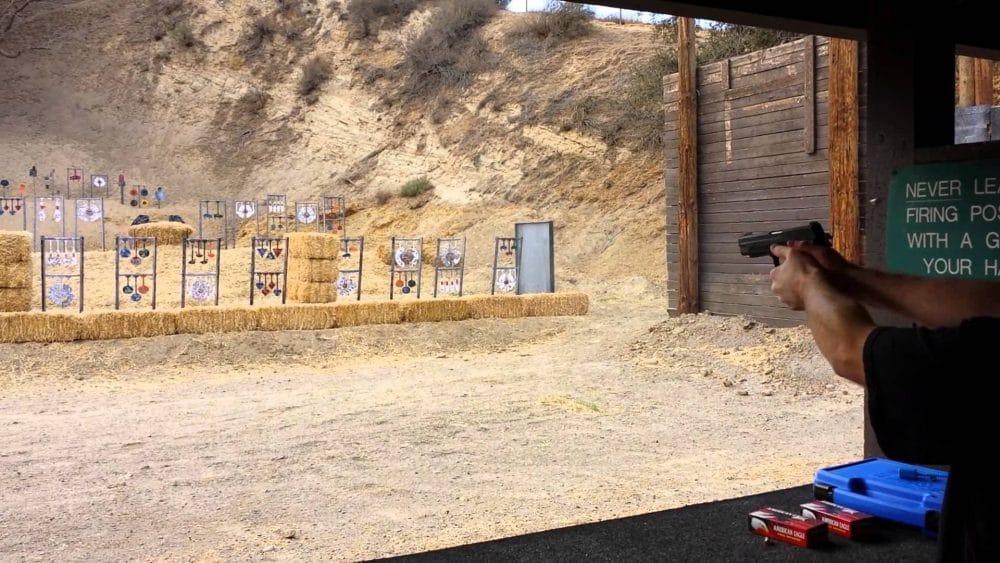 a shooting range