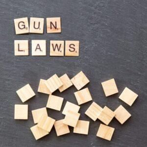 gun laws word in scrabble