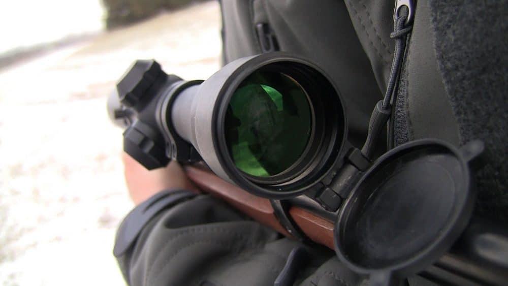 long eye relief scope
