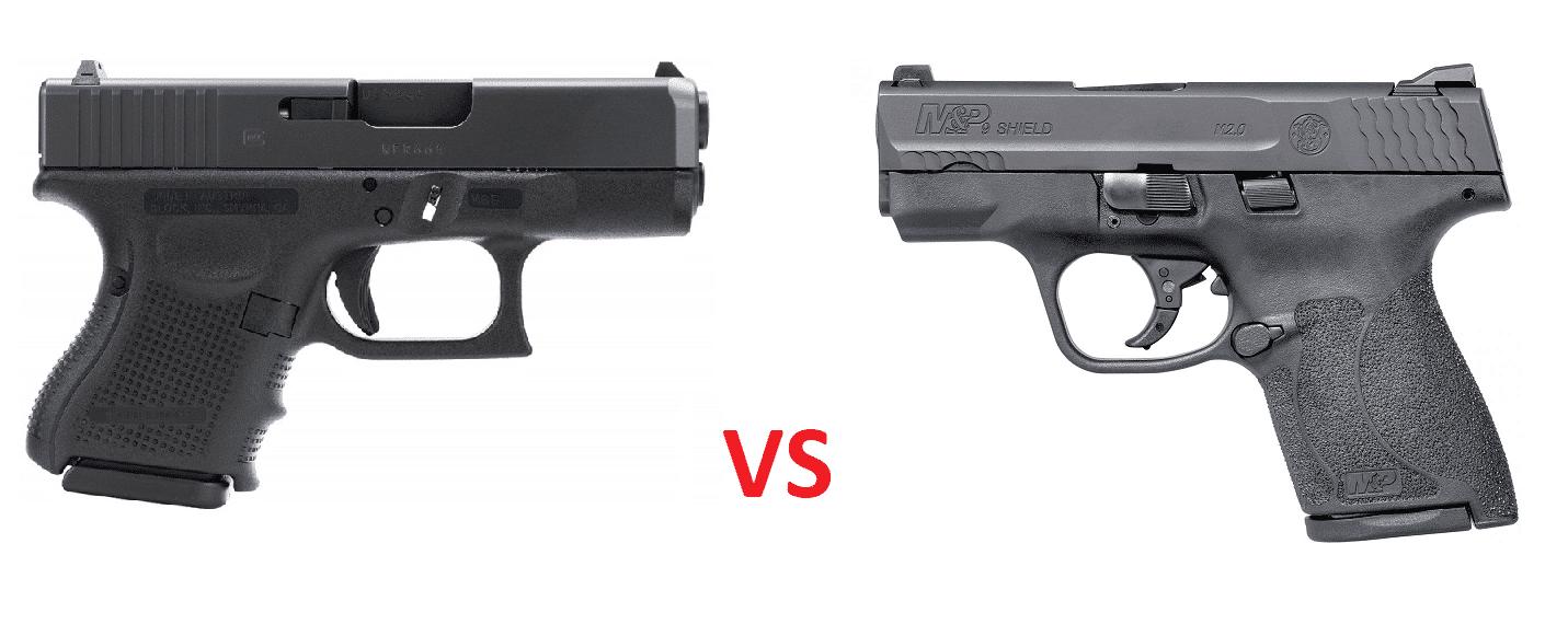 M And P Shield Vs Glock 26 Handgun Showdown Round...