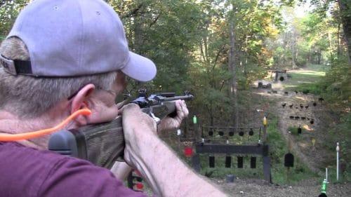 Gunsite Scout Rifle target shooting