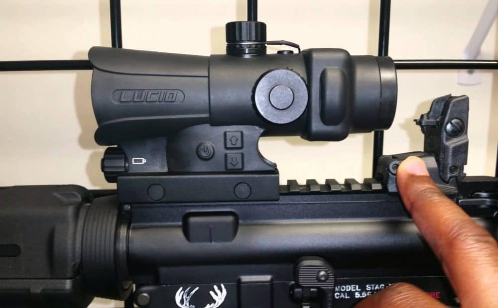 lucid hd7 in stag arms ar-15