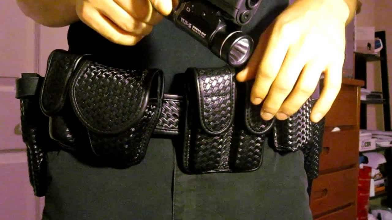 Image of tactical duty belt