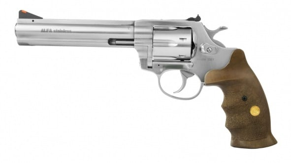 a picture of the CzechPoint Alfa Proj 6-inch barrel revolver