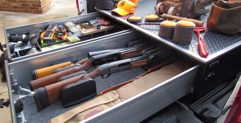 Guns on Truck