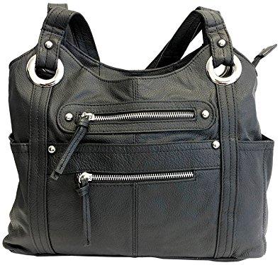 Leather Locking Concealment Purse