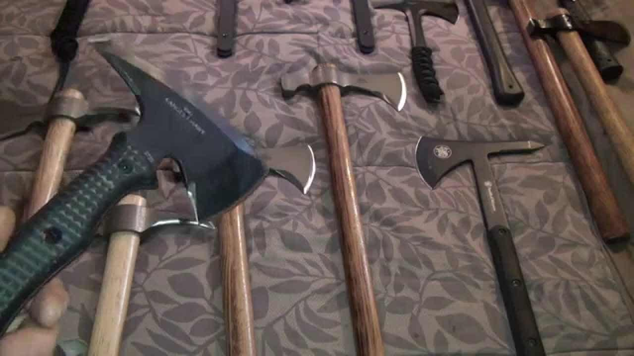 tomahawk weapon collection
