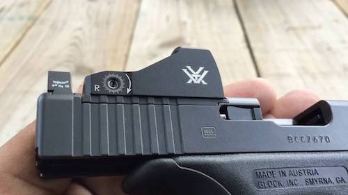glock red dot sight