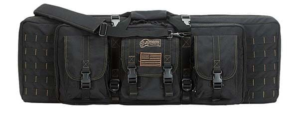 image of VOODOO TACTICAL RIFLE CASE in black color