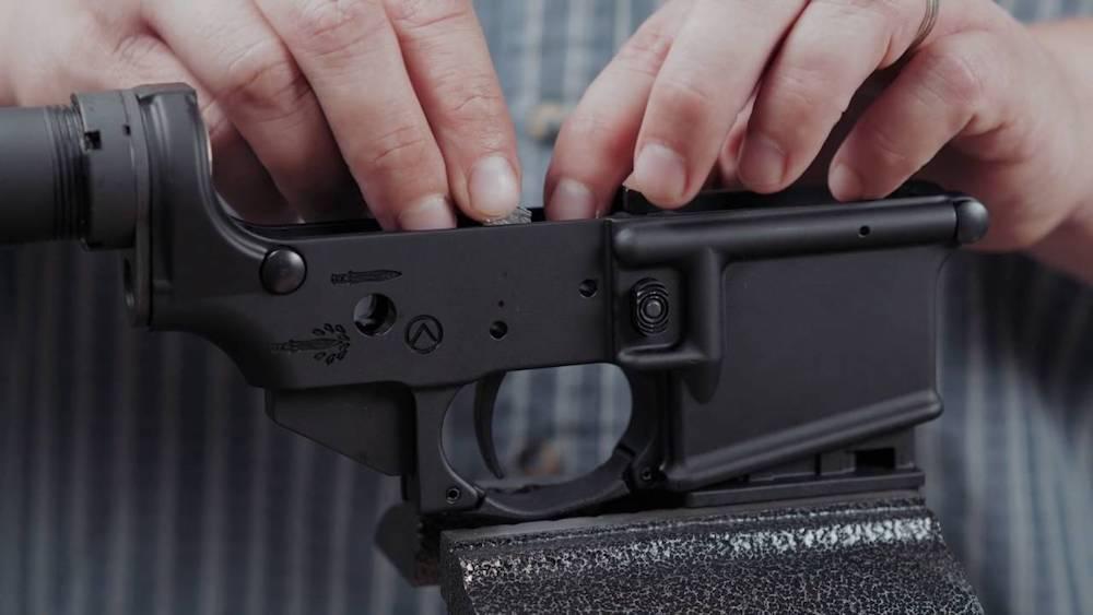 ar-15 trigger installation