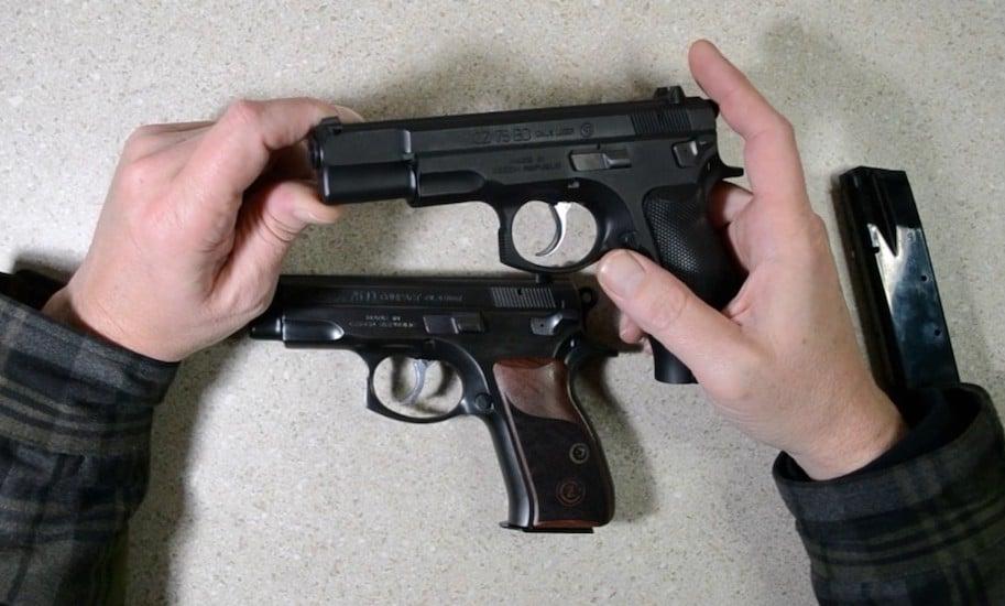 cz 75 compact vs full size