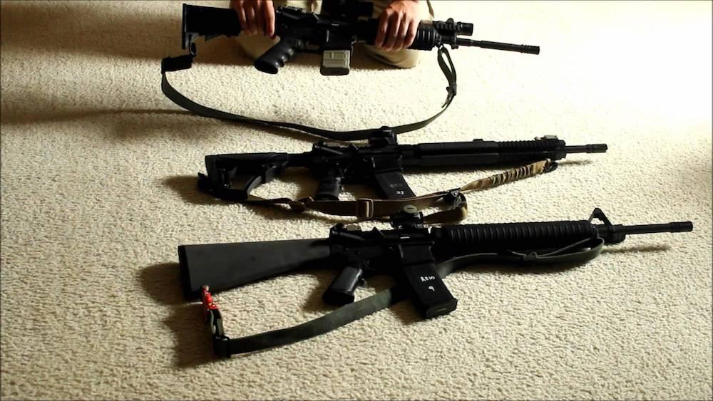 different ar-15 barrel length