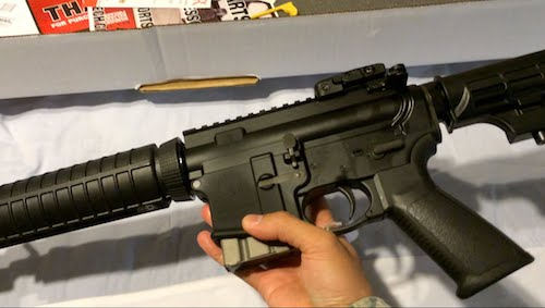 ruger ar-556 unboxing