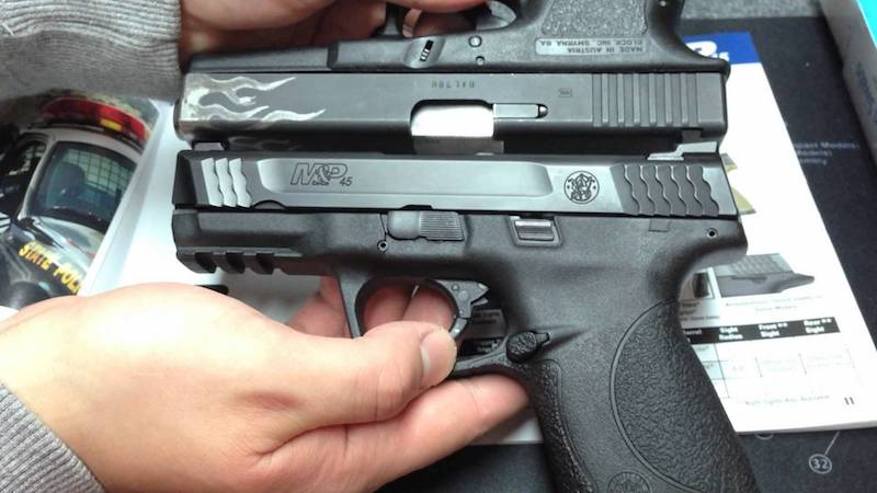 M&P 45 Shield overview