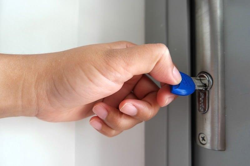Opening Door Security