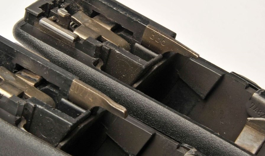 a picture of Gen 3 and Gen 4 ejectors