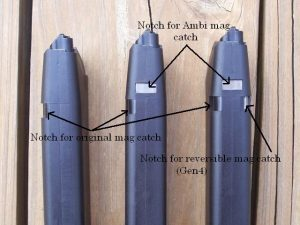a picture of Gen 4 magazines