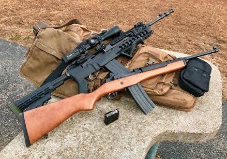 ruger mini 14 rifles