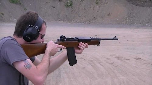 ruger mini-14 target practice