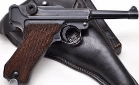 a picture of the Luger Pistol