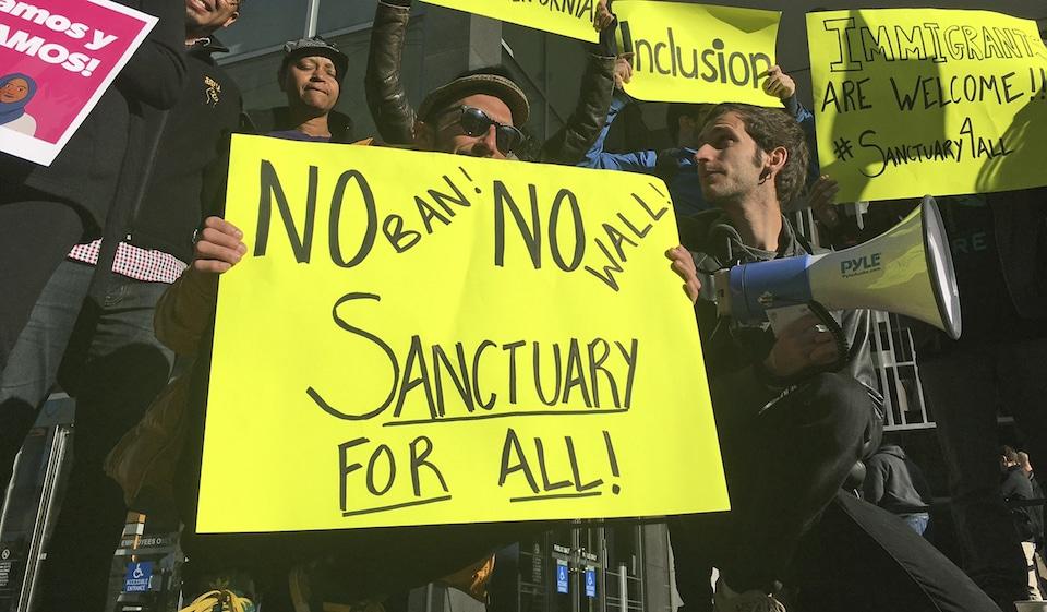 gun sanctuary protest