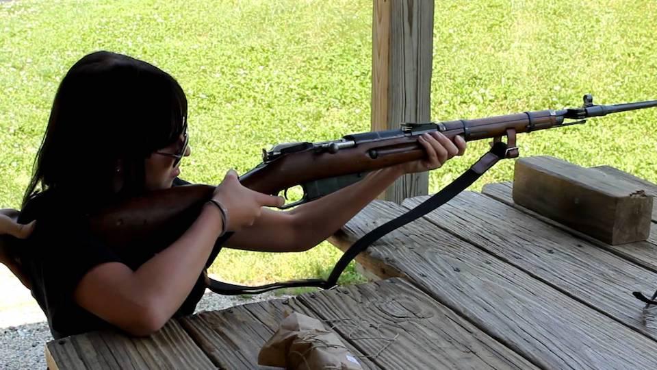 mosin nagant m44 rifle shooting