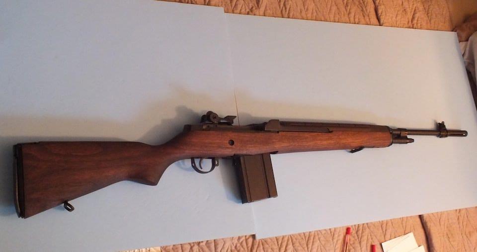 springfield m1a classic rifle