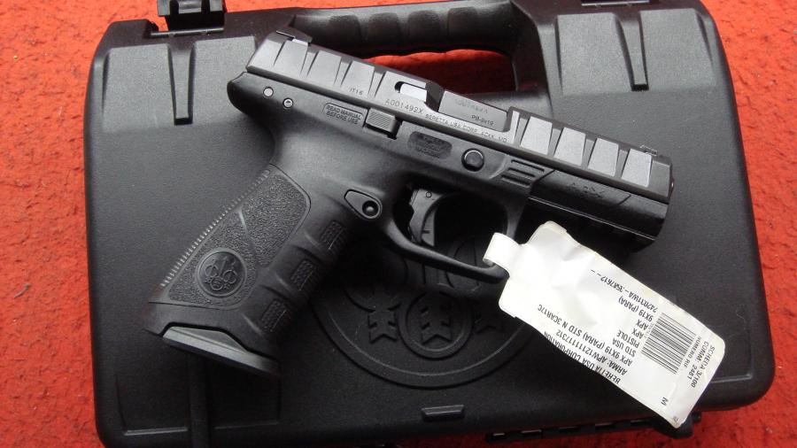 a picture of the Beretta APX with a price tag