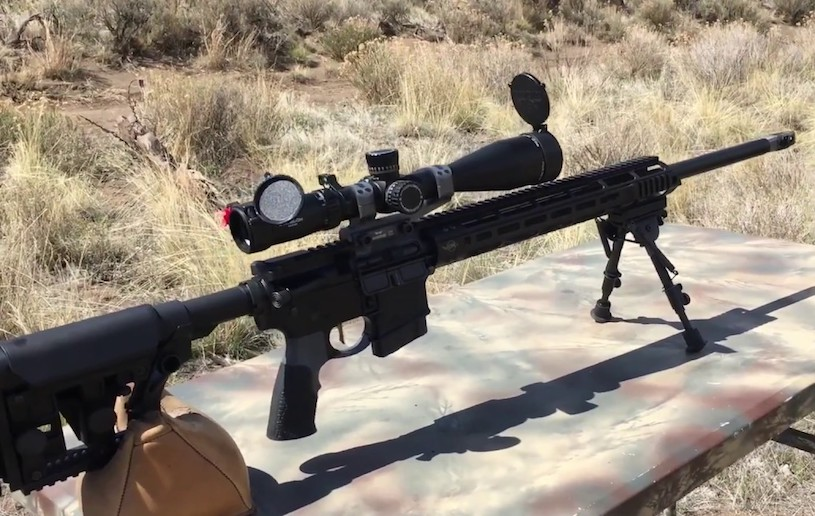 CMMG MkW ANVIL rifle for shooting