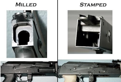 ak47 milled vs stamped