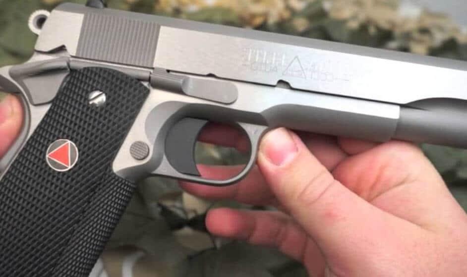image of a 10mm pistol colt elite delta