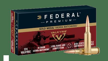 Federal 90 grain Gold Medal Sierra Matchking