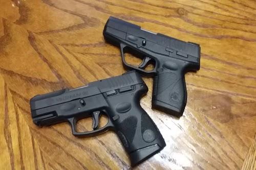 Taurus 709 vs pt111 g2 pistols
