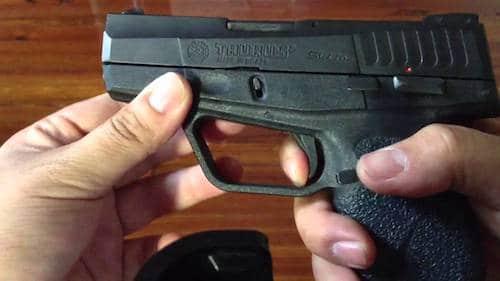 Taurus PT709 Slim trigger