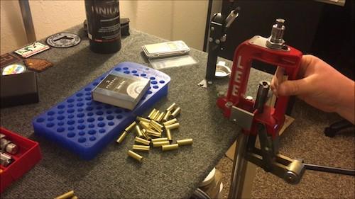 brass ammo reloading