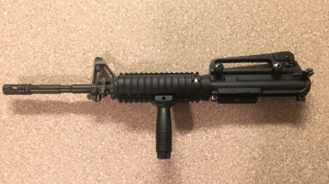 Colt M4 22LR Upper