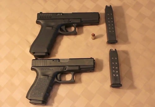 image of Glock 22 and 23