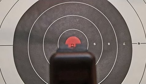 Most Accurate Handguns Target Image
