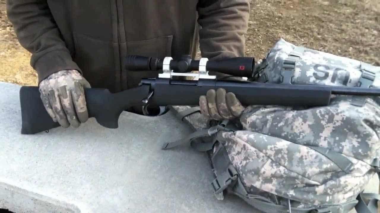 howa 1500 in gun range