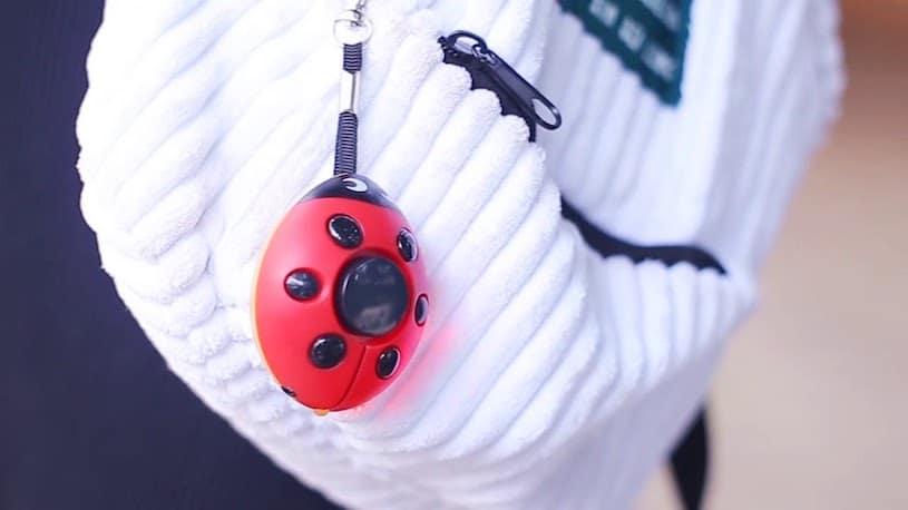 personal panic alarm keychain for girls