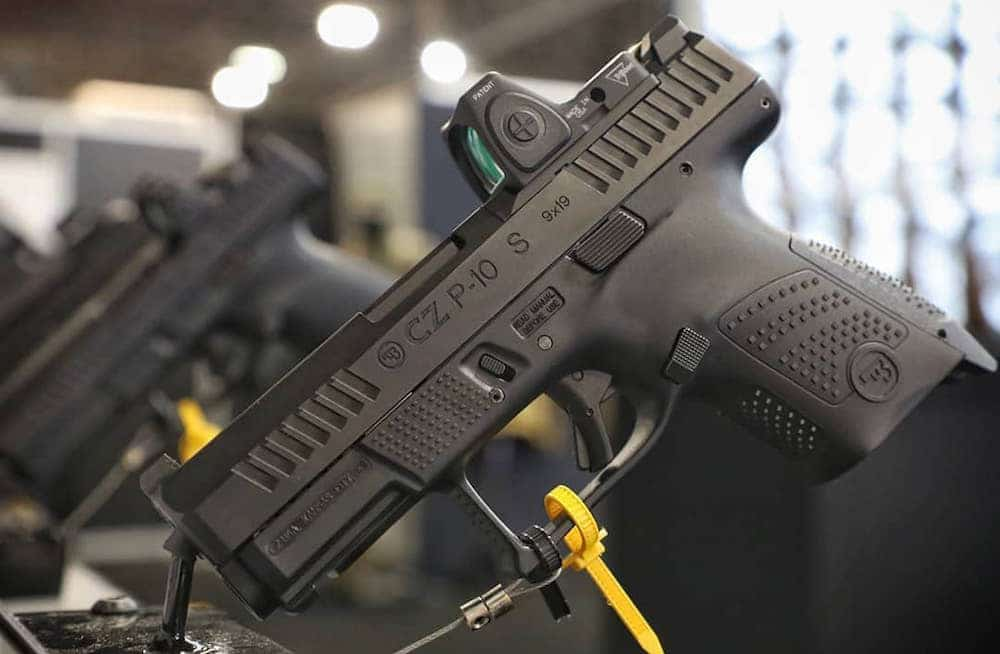 New CZ P10 Pistols: P10F and P10S - Gun News Daily