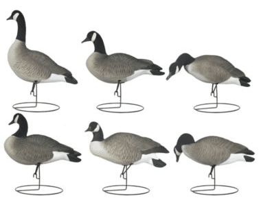 Hard Core Decoys Rugged Series Full Body Touchdown Canada Goose Decoys